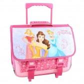 Cartable à roulettes Princesse Disney Rose 41 CM Haut de Gamme