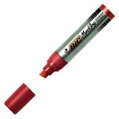 Permanent permanent marker Bic ONYX chisel - XXL - Rouge