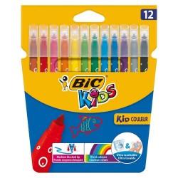 Cubierta de 12 marcadores BIC KIDS