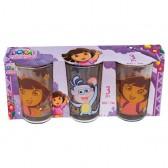 Set di 3 lenti Dora l'esploratrice