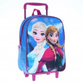 The Queen of snow 30 CM Sisters Frozen rolling bag
