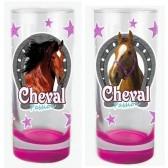 Satz von 2 Tassen Pferd