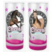 Pack de 2 verres Cheval