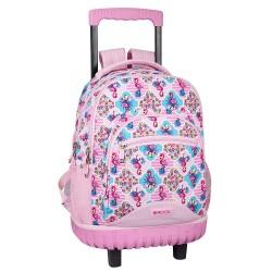 Backpack skateboard Moos Flamingo Pink 45 CM Trolley high-end