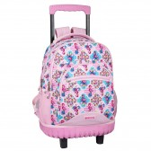 Moos Flamingo Turquoise 45 CM Trolley high-end skateboard backpack