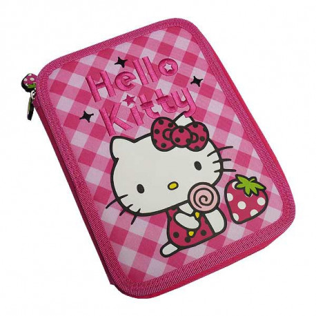 Trousse garnie Fraise Hello Kitty