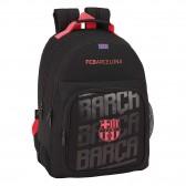 Sac à dos FC Barcelone Black 42 CM ergonomique - 2 Cpt