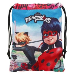 Ladybug Miraculous Pool Bag and Black Cat 25 CM