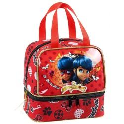 Bag taste Ladybug Miraculous 20 CM - bag lunch