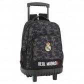 Real Madrid Black 45 CM trolley premium skateboard backpack