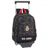 Sac à roulettes Real Madrid Black 34 CM maternelle Haut de Gamme