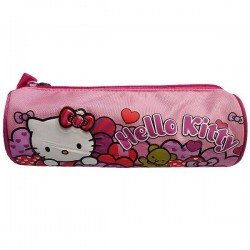 Trousse Hello Kitty Coeur 23 CM