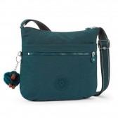 Kipling ARTO 29 CM shoulder bag - Deep Emerald C