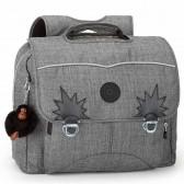 Kipling Iniko 40 CM schoolbag - Jeans Grey