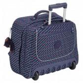 conception adroite meilleurs tissus mode la plus désirable Cartable à roulettes Kipling Clas Dallin 43 CM - Blue Dash C