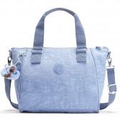 Kipling handbag AMIEL 27 CM - Timid Blue C