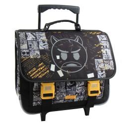 Emoji Devil 41 CM de gama alta cartera con ruedas
