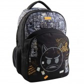 46 CM Emoji Smile high-end backpack
