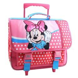 Minnie happy 41 CM high-end wheeled satchel