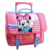 Mochila con ruedas Disney Princess rosa 41 CM - Trolley escolar
