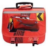 Cartable à roulettes Cars Disney Rouge 39 CM Haut de Gamme