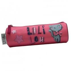 Lililou rosa Katze Kit 22 CM