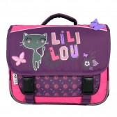 Cartable Lililou Chat 38 CM - Haut de gamme