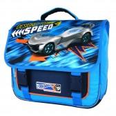 Mochila de ruedas calientes azul 38 CM