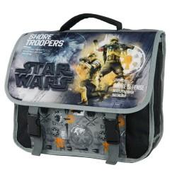Star Wars black and grey 38 CM high-end satchel