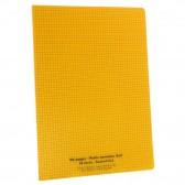 Notebook Polypro 24x32 neutral large tiles Séyès 48p