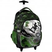 Carretilla de estudio animales de 45 CM perro Skateboarding - mochila mochila