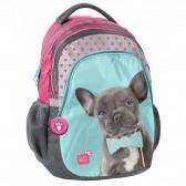 Blue 45 CM - 2 Cpt dog backpack