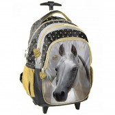 Wheeled backpack horse magic 44 CM high-end trolley-satchel
