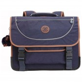 Kipling Preppy 41 CM Schoolbag - Blue Tan Block