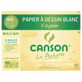 Tekening papier wit C tot korrel CANSon 12 vellen 24x32 cm 180g
