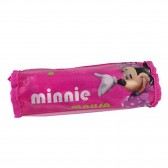Minnie rose 21 CM round pencil case