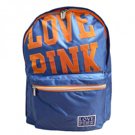 Sac à dos Love Pink Bleu 43 CM