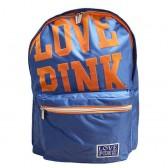 Liefde rugzak roze blauw 43 CM