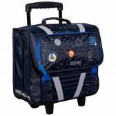 Wheeled satchel Batman DC Comics 41 CM high-end trolley