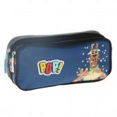 Rectangular Kit Scooby-Doo pop corn 22 CM 2 CPT-scoubidou