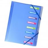 Trieur 3 kleppen 8 compartimenten polypropyleen Chromaline