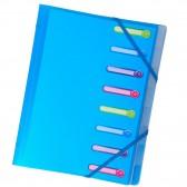Trieur 3 flaps 8 compartments polypropylene Chromaline