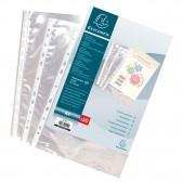 Beutel 100 perforierten Taschen A4 aus Polypropylen Korn 4/10