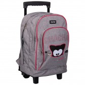 Chacha Miaou 43 CM High-end wheeled backpack - 2 cpt - Bag