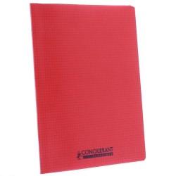 Notebook Polypro 24x32 CONQUERANT small tiles 5x5 96p