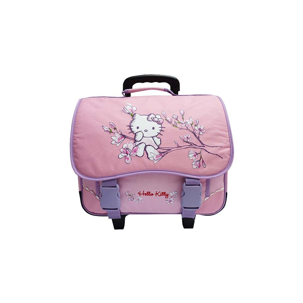Cartable roulette hello kitty