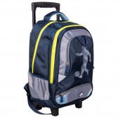 Rolling Backpack Chacha Miaou 43 CM - 2 cpt - Premium Quality