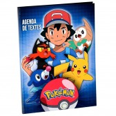 Agenda Pokemon Sacha 22 CM - Cahier de textes