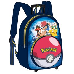 Pokemon Sacha 38 CM Radrucksack - High-End