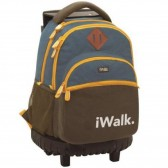 Rolling Backpack 45 CM Champions League Player Premium - 2 cpt - Trolley